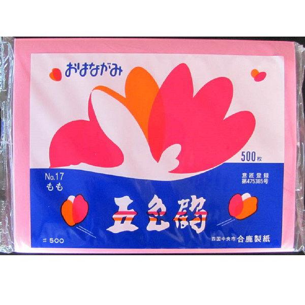 五色鶴おはながみ 桃色500枚入