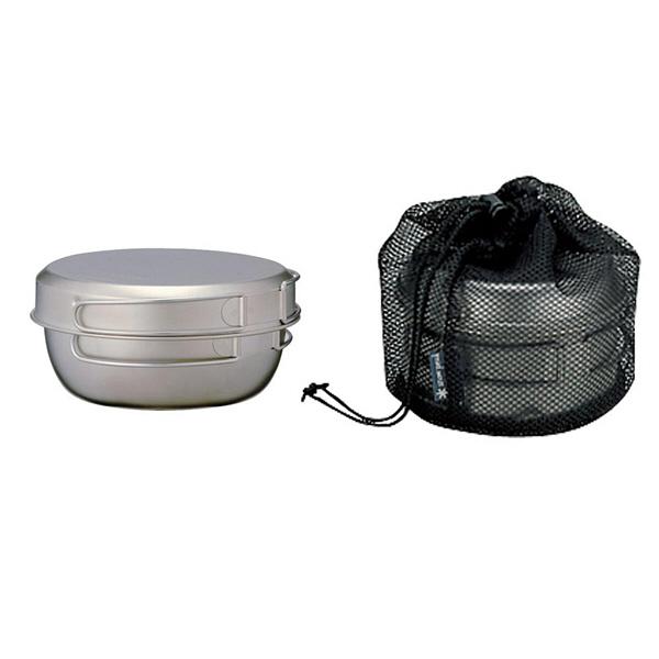 純チタン食器3点セット STW-001T