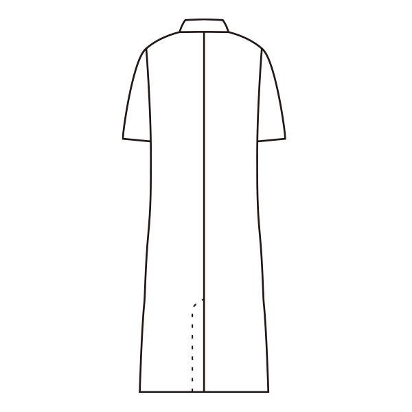 メンズ・半袖(ダブル) ホワイト L