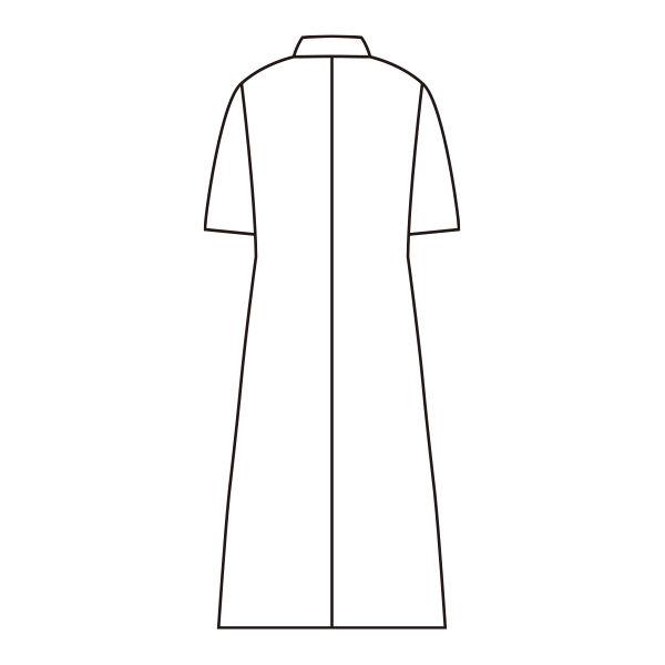 レディス・半袖(ダブル) ホワイト LL
