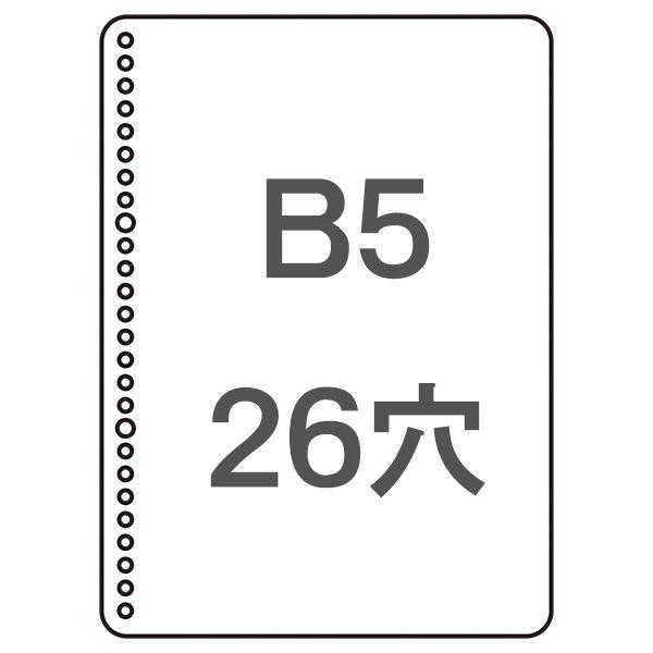 コクヨ 三色刷ルーズリーフ B5 補助帳 リ-106