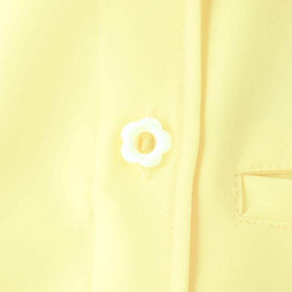 アイトス オープンネックチュニック(ナースジャケット) 861369-019 レモンイエロー LL