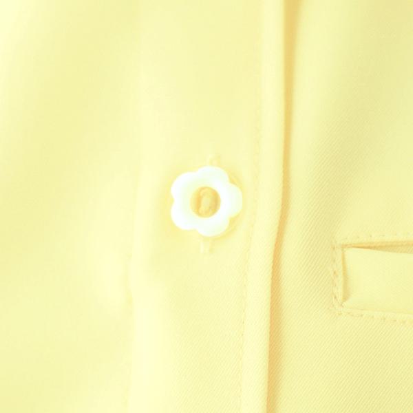 アイトス オープンネックチュニック(ナースジャケット) 861369-019 レモンイエロー S