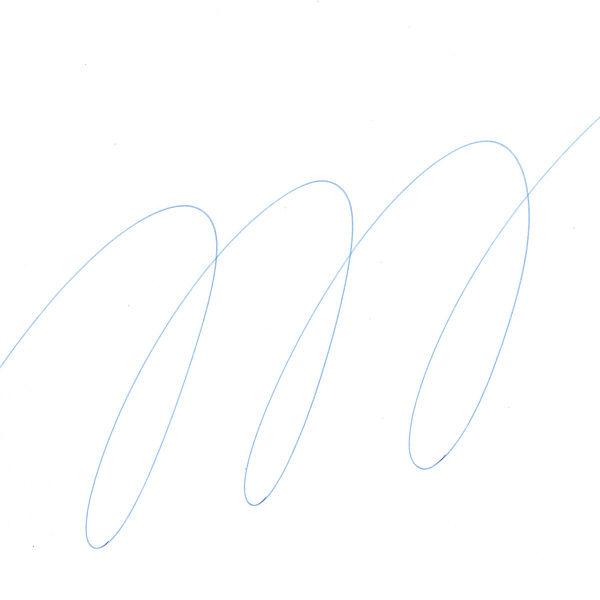 三菱鉛筆(uni) ノック式ユニボールシグノRT替芯 0.5mm UMR-85N 青 10本