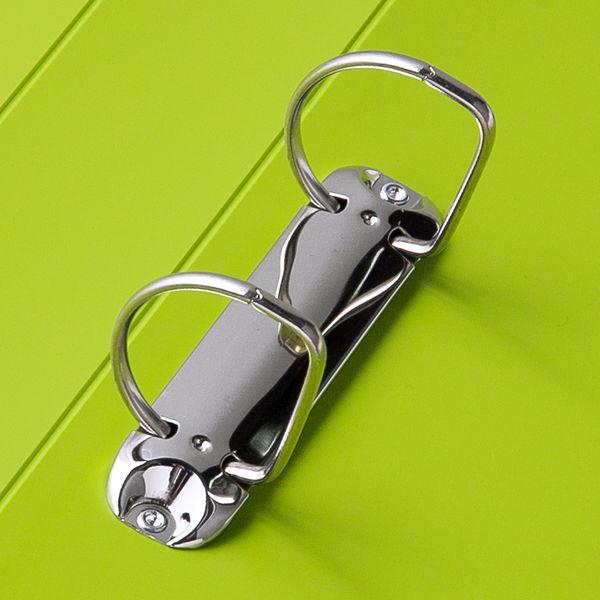 D型リングファイル A4タテ51mm 緑