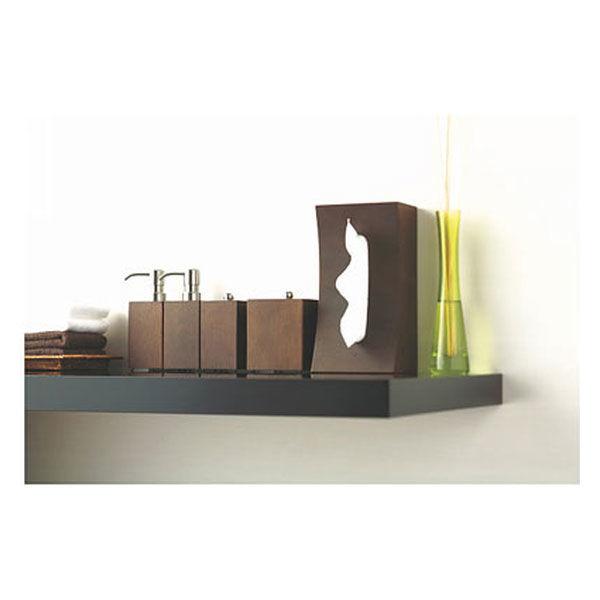 スマイル 木製ティッシュボックス 2WAYタイプ