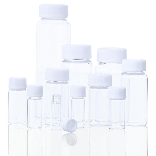 アズワン ラボランスクリュー管瓶No.7L 60mL 50+5本入 1箱(55本) 1-6347-01 (直送品)