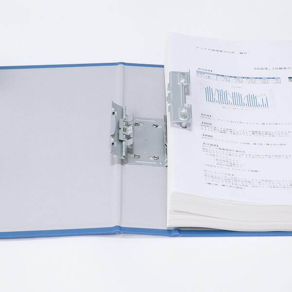パイプ式ファイル A4縦 とじ厚40mm