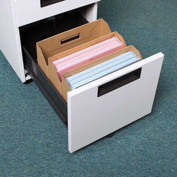 ボックスファイル ナチュラル 横 5個