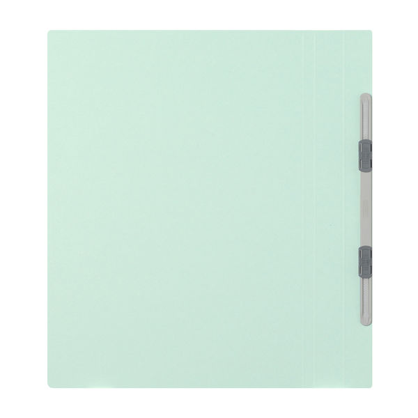 フラットファイル厚とじ A4縦 青 3冊