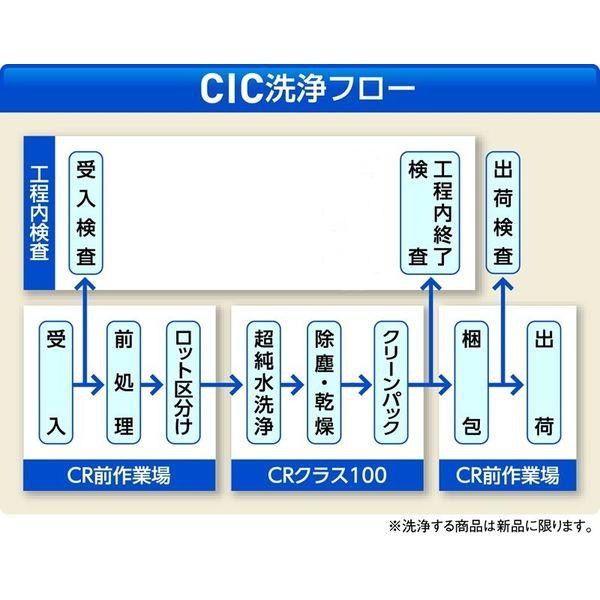 アズワン クリーンノール スーパーピュア クリーンパック L 50双入 1箱(50双) 6-906-01 (直送品)
