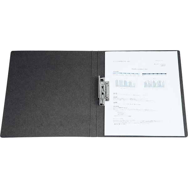 ビュートン エコノミーZファイル A4タテ ダークグレー 1箱(10冊入)