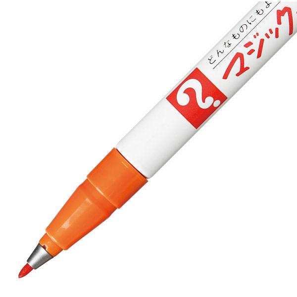 油性ペン マジックインキNo.700 極細 橙 寺西化学工業 M700-T7