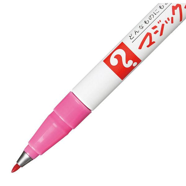 油性ペン マジックインキNo.700 極細 桃 寺西化学工業 M700-T12
