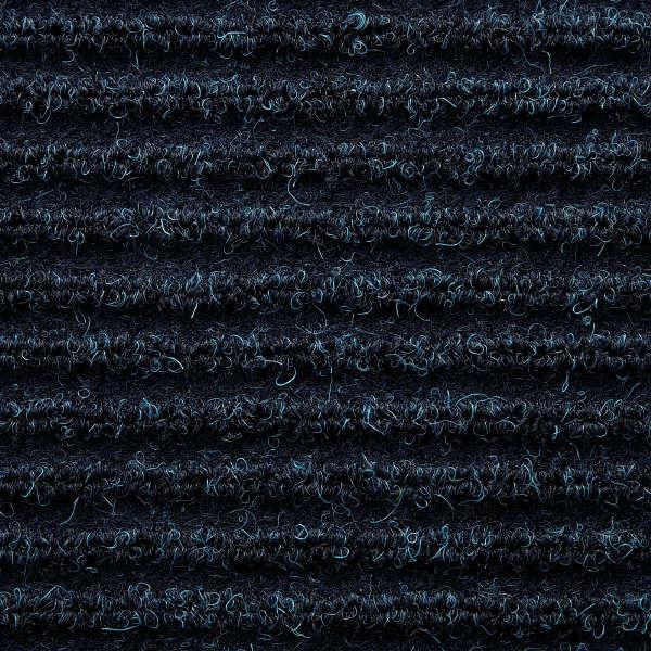 テンダイ 屋内玄関マット ブルー
