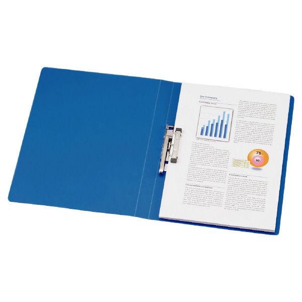 パンチレスファイル A4タテ 30冊 リヒトラブ HEAVY DUTY 藍 F367-9