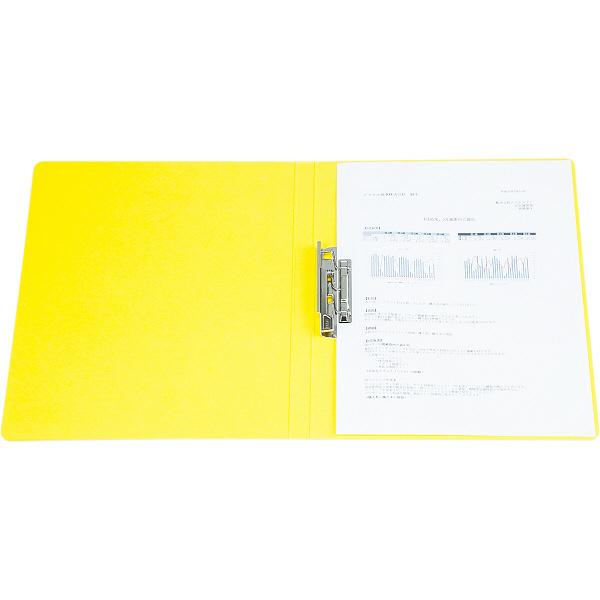 ビュートン エコノミーZファイル A4タテ イエロー 1セット(30冊:10冊入×3箱)
