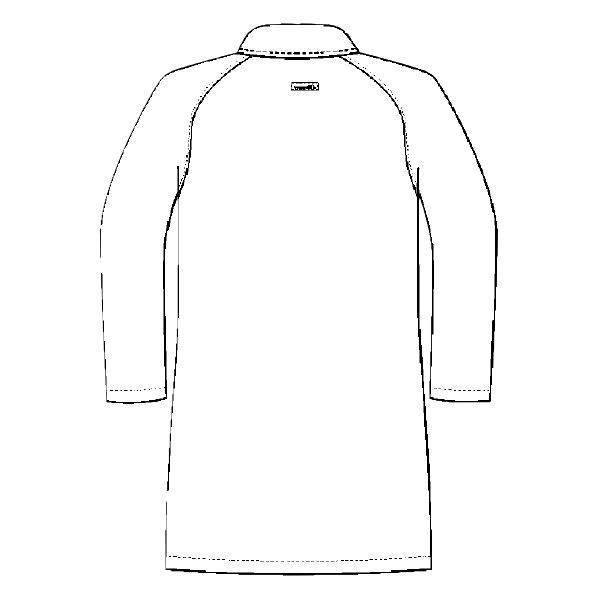 ルコックスポルティフ メンズドクターコート(シングル 診察衣) UQM4501 ホワイト M