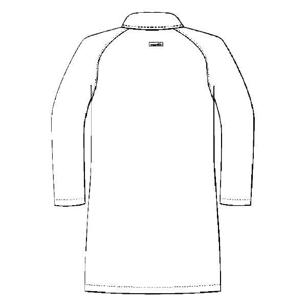 ルコックスポルティフ メンズドクターコート(シングル 診察衣) UQM4501 ホワイト L