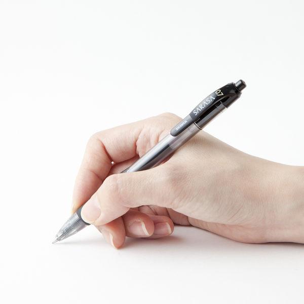 ゲルインクボールペン サラサ 0.7 黒