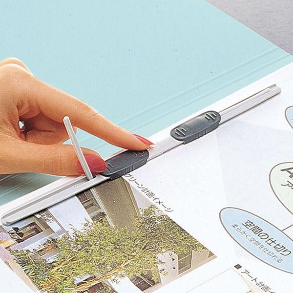 コクヨ フラットファイルW厚とじ A4タテ 10冊 ブルー フ-W10NB