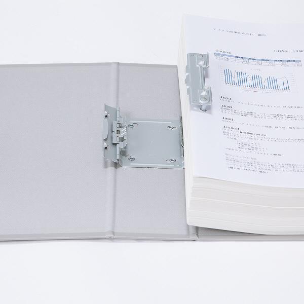 パイプ式ファイル A4縦60mm 10冊