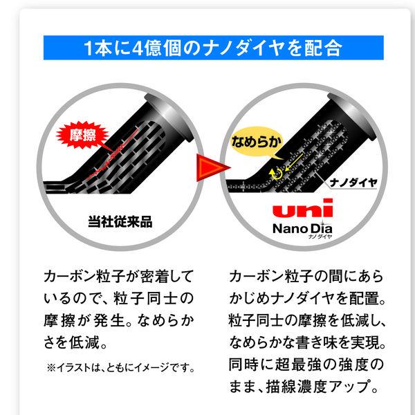 三菱鉛筆(uni) ユニシャープ 替芯 ナノダイヤ 0.3mm B U03202ND 1ケース(15本入)