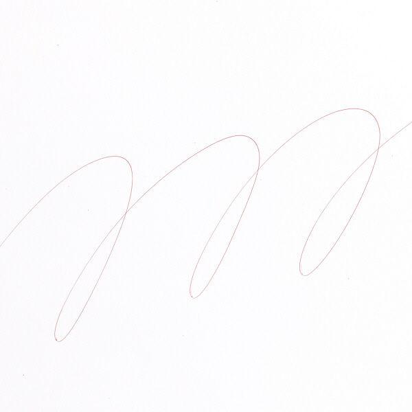 三菱鉛筆(uni) 楽ノック 油性ボールペン替芯 極細0.5mm SA-5CN 赤 10本