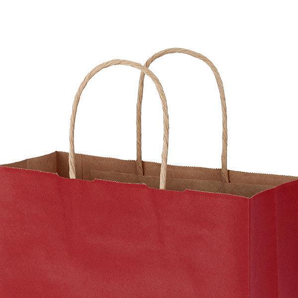 丸紐 手提げ紙袋 赤 SS 900枚