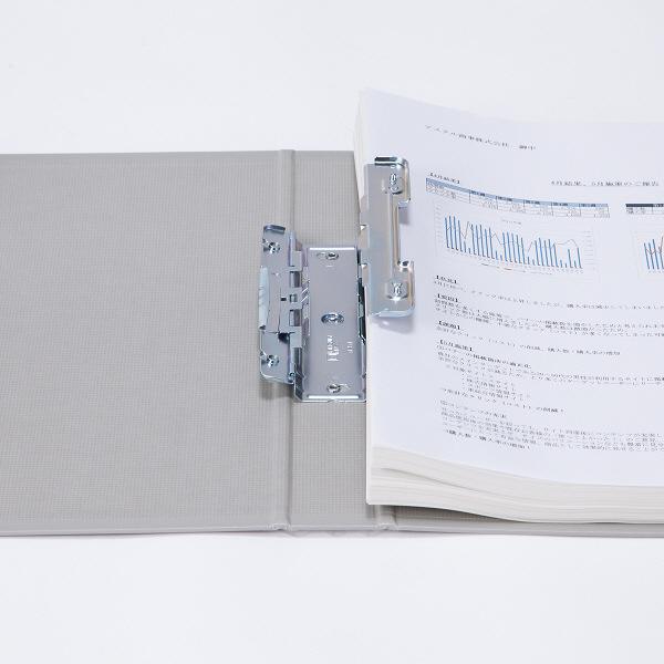 パイプ式ファイル A4縦30mm 3冊