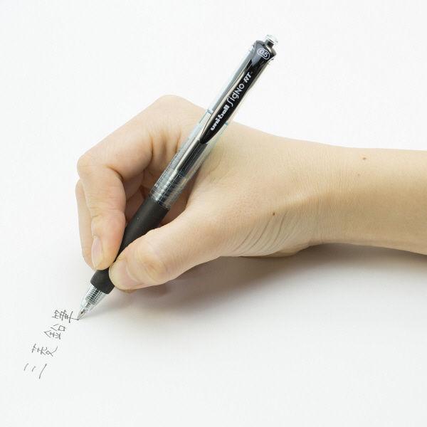 三菱鉛筆(uni) ゲルインクボールペンユニボール シグノRT(ノック式エコライター) 業務用パック 1箱(10本入) 0.5mm 黒インク