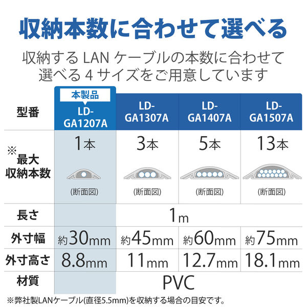 床用モール 1m×30mm(10本入)