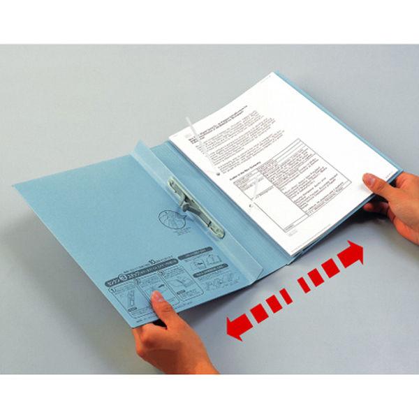セキセイ のびーるファイル エスヤード A4タテ グレー 10冊 AE-50F-70