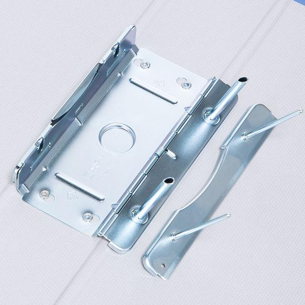 パイプ式ファイル片開きA4縦とじ厚50