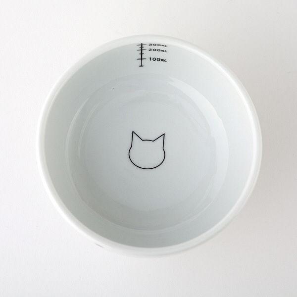 脚付ウォーターボウル 猫柄