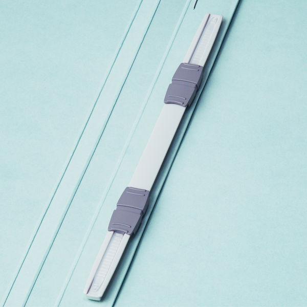 フラットファイル A4タテ 薄青 30冊