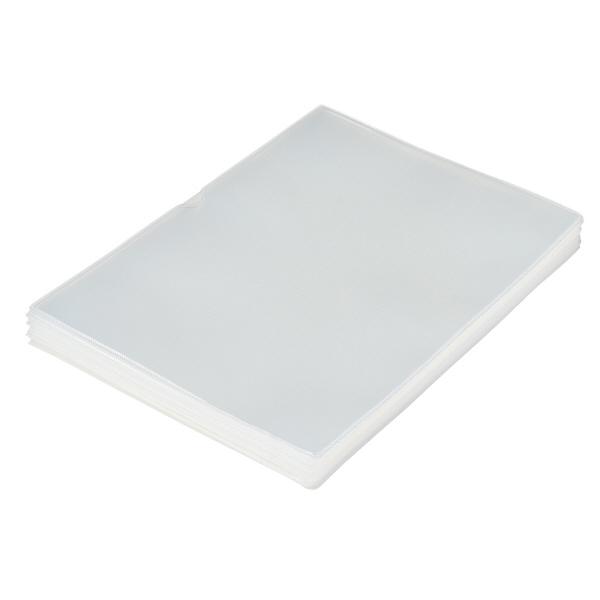 プラス 再生カードケース(ソフトタイプ) A4 34485 業務用パック 1箱(20枚入)