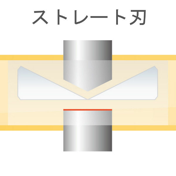 フジ矢 フジ矢 プラスチックニッパ ストレート刃 175mm 90A175 1丁 276ー3346 (直送品)