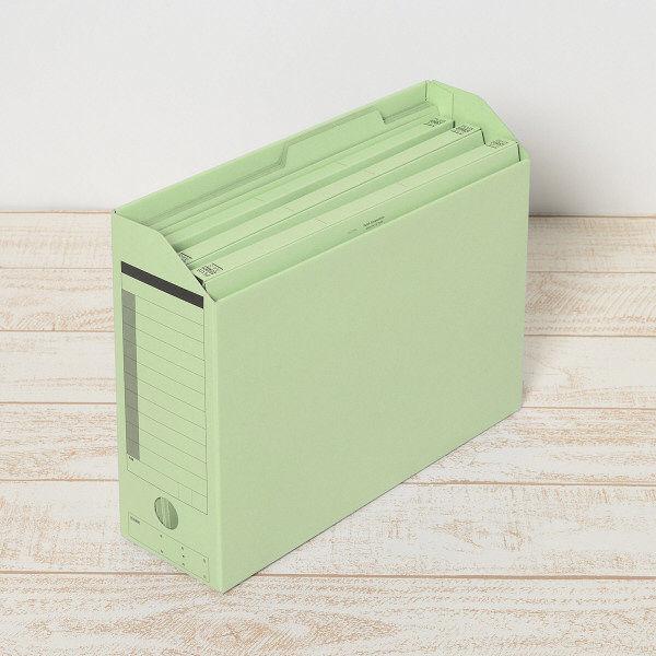 プラス 個別フォルダーA4 グリーン FL-061IF 87096 1箱(100枚)