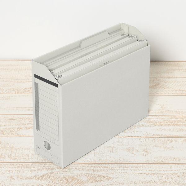 プラス 個別フォルダーA4 グレー FL-061IF 87099 1箱(100枚)