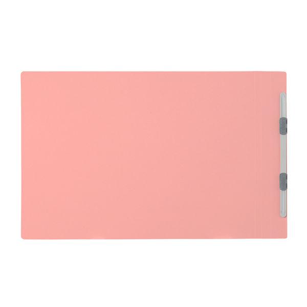 プラス フラットファイル樹脂製とじ具 B4ヨコ ピンク No.012N 10冊