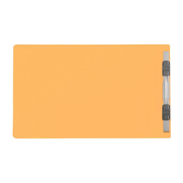 プラス フラットファイル樹脂製とじ具 A5ヨコ イエロー No.042N 10冊