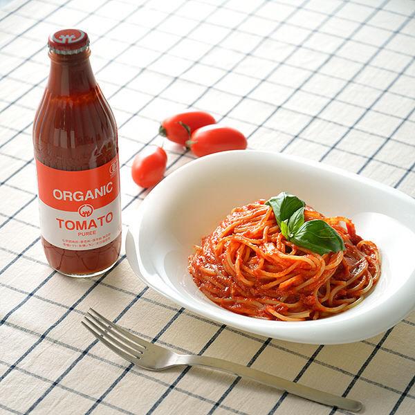 【LOHACO限定】オーガニックトマトピューレー 320g 光食品 1本