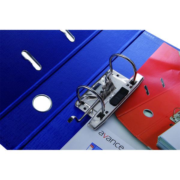 エセルテジャパン レバー式アーチファイル A4タテ 背幅75mm ブルー 70ST 1箱(10冊入)