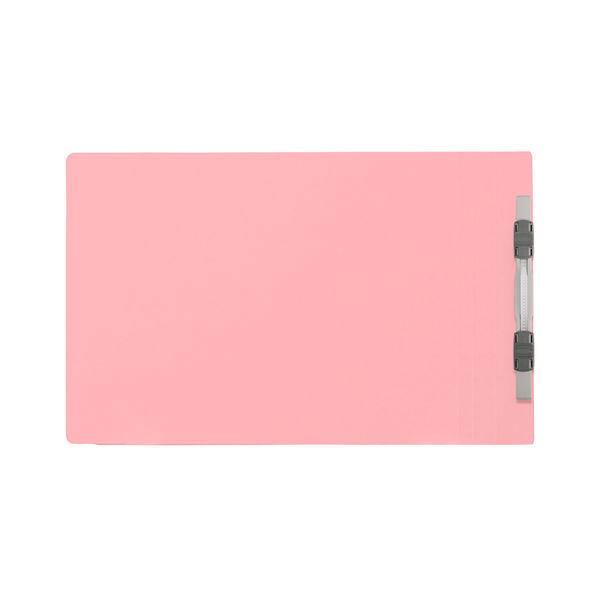 プラス フラットファイル B5ヨコ ピンク No.032N 100冊