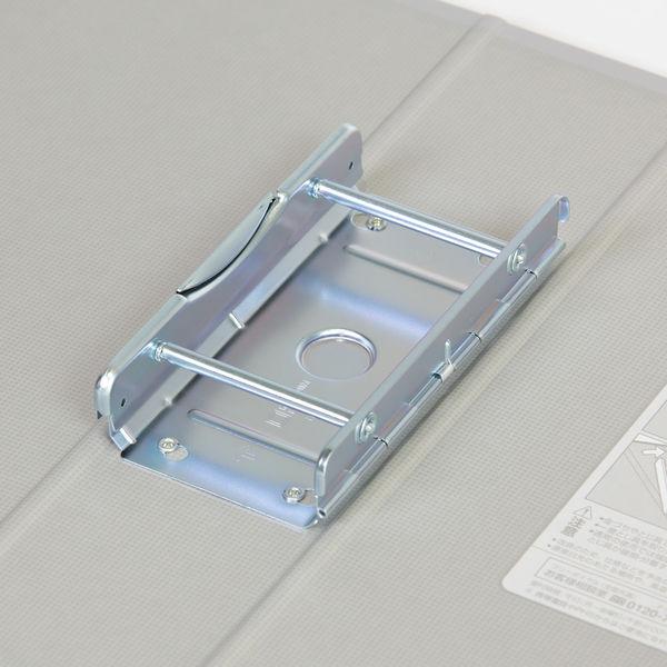 キングファイルG A4タテ とじ厚60mm背幅76mm グレー キングジム 片開きパイプファイル 976N 3冊