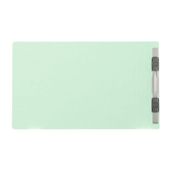 プラス フラットファイル樹脂製とじ具 A5ヨコ ブルー No.042N 100冊