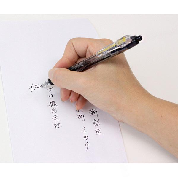 ゼブラ タプリクリップボールペン 1.0mm 赤 BNB5-R 1本