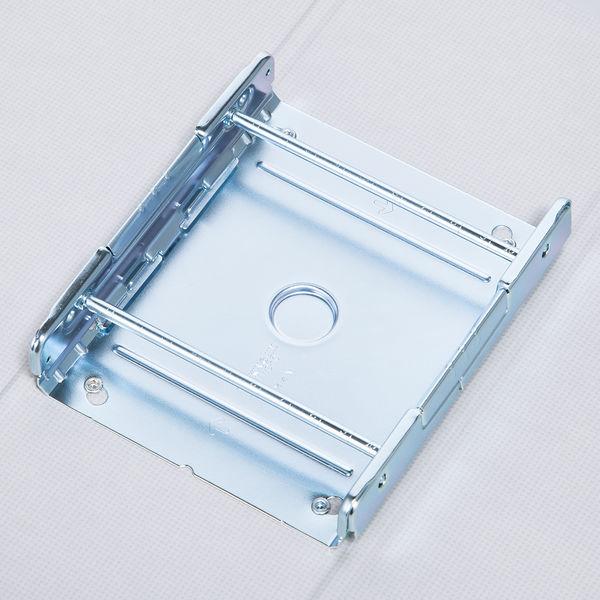 アスクル パイプ式ファイル 両開き ベーシックカラースーパー(2穴)A4ヨコ とじ厚100mm背幅116mm ブルー