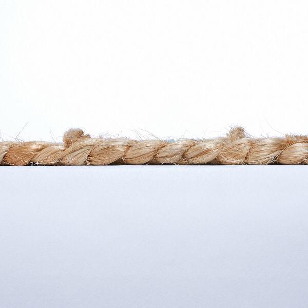 ジュートと綿のチューブラグ 1枚